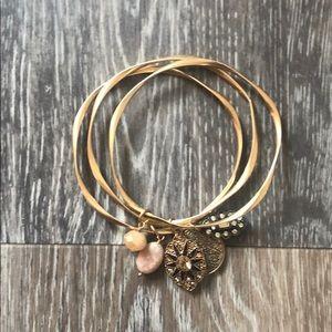Jewelry - Set of 3 Gold Bracelets